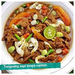 Resep Tongseng sapi tanpa santan