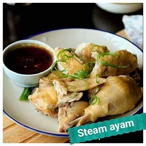Resep Steam ayam